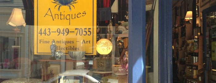 Blue Crab Antiques is one of Locais salvos de kazahel.