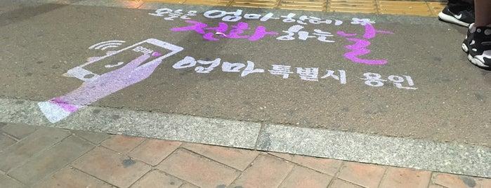 죽전역,신세계백화점 (ID:56-073) is one of Bus Stop.