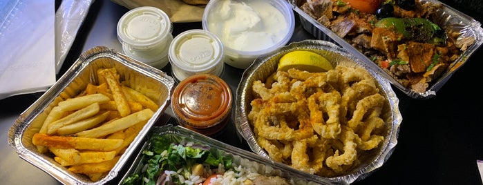 OBA Mediterranean Gyro & Grill is one of Places to Check Out in Forest Hills.