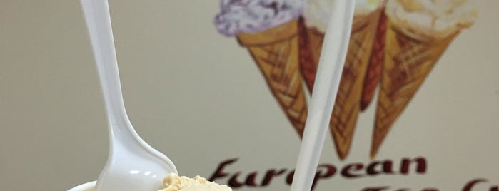 European Ice Cream is one of USA NYC Cafes.