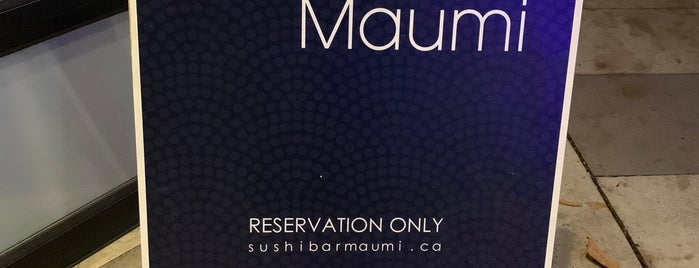 Sushi Bar Maumi is one of Vancouver.