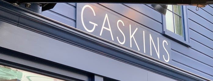 Gaskins is one of Upstate NY.