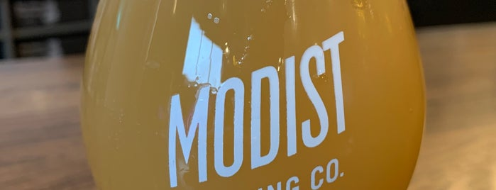 Modist Brewing Co is one of #ministerapproved.