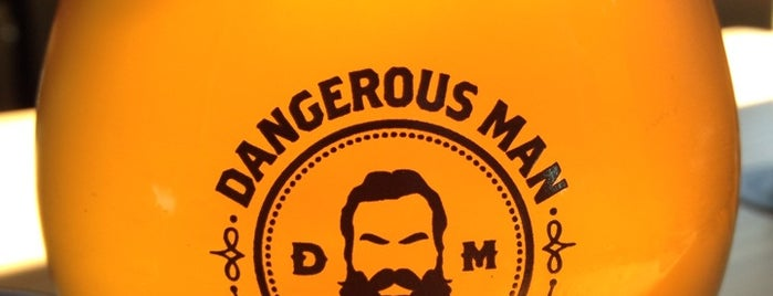 Dangerous Man Brewing Co is one of #ministerapproved.