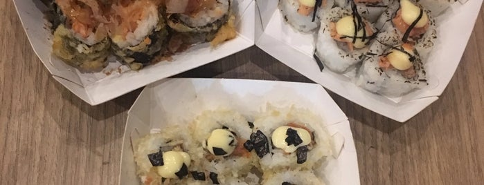 Ta Ke Ho Me Sushi Stand is one of Spoiler babe. ❤️️.