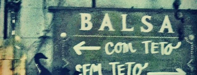 A Balsa is one of SP: Barzinhos.