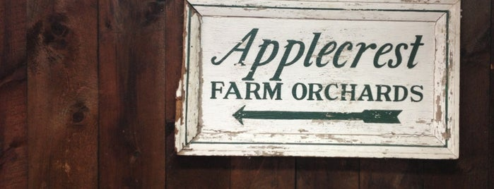 Applecrest Farm Orchards is one of Tempat yang Disukai Anthony.