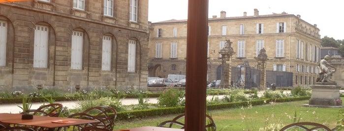 Orangerie du Jardin Public is one of Gespeicherte Orte von Eduardo.