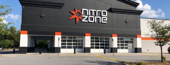 Nitro Zone is one of Tempat yang Disimpan K.