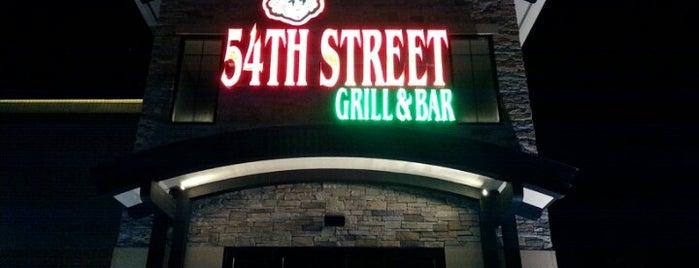 54th Street Grill & Bar is one of Tempat yang Disukai Scott.