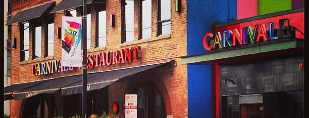 Carnivale is one of United Mileage Plus Dining Spots.