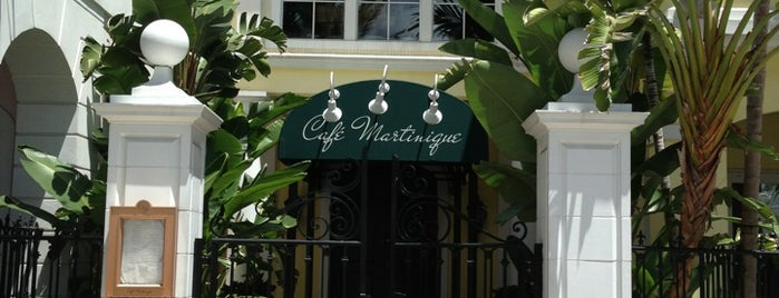 Café Martinique is one of Lugares guardados de Joanna.