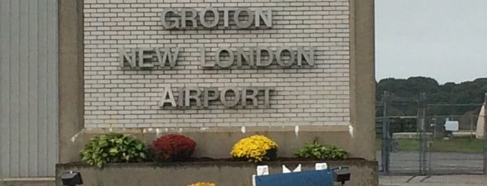 Groton-New London Airport (GON) is one of Airports.