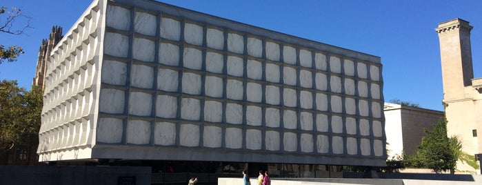 Beinecke Rare Book and Manuscript Library is one of Architecture.