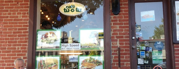Cafe Tu-O-Tu is one of Guide to DC.