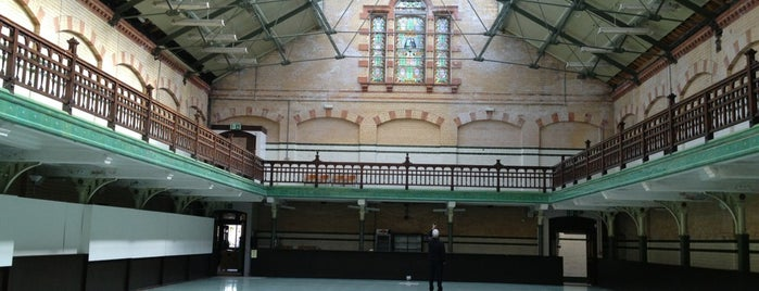 Victoria Baths is one of Greater Manchester Attractions.