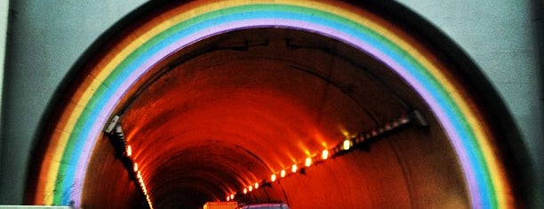Robin Williams Tunnel is one of San Francisco.