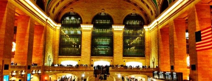 Grand Central Terminal is one of บันทึกเดินทาง New York.