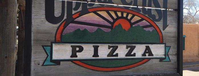 Upper Crust Pizza is one of Lieux qui ont plu à M.