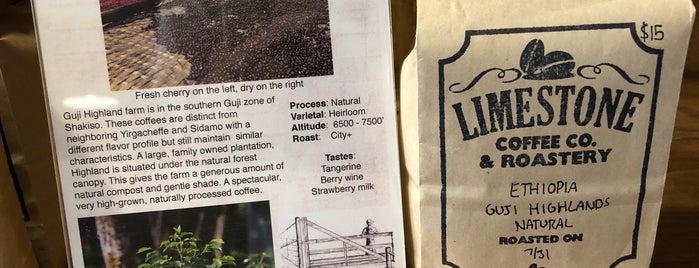 Limestone Coffee Company is one of Lieux qui ont plu à M.