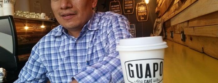 Guapo Café is one of Lieux qui ont plu à Yzaak.