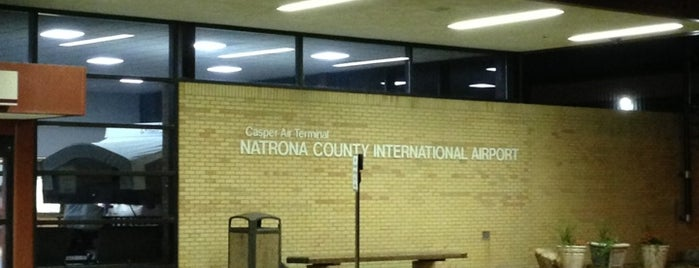 Natrona County International Airport (CPR) is one of Orte, die Matt gefallen.