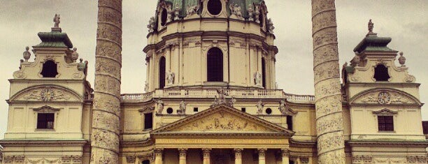 Karlskirche is one of Must-Visit ... Vienna.