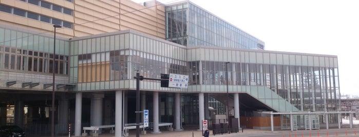 新青森駅 is one of JR 키타토호쿠지방역 (JR 北東北地方の駅).