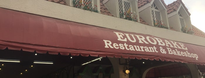 Eurobake Restaurant & Bakeshop is one of Orte, die Shank gefallen.