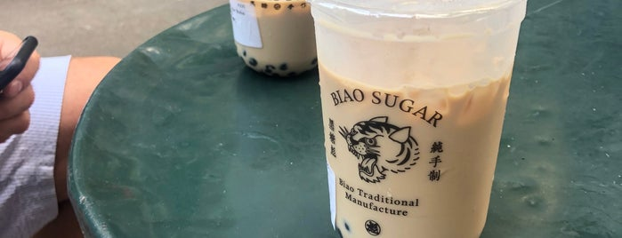 Biao Sugar is one of NY boba.
