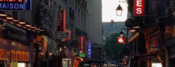 Quartier Latin is one of Paris.