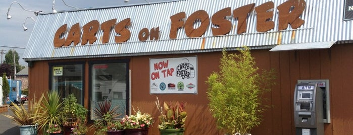 Carts on Foster is one of สถานที่ที่ Star ถูกใจ.