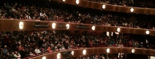 David H. Koch Theater is one of LaGuardia High School and Environs.