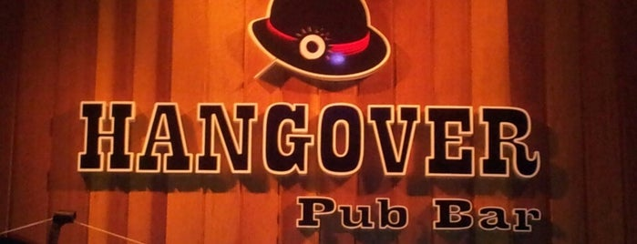 Hangover Pub Bar is one of Lugares guardados de Fabio.