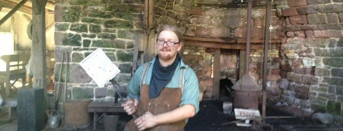 Hopewell Furnace National Historic Site is one of Lieux qui ont plu à Maddie.