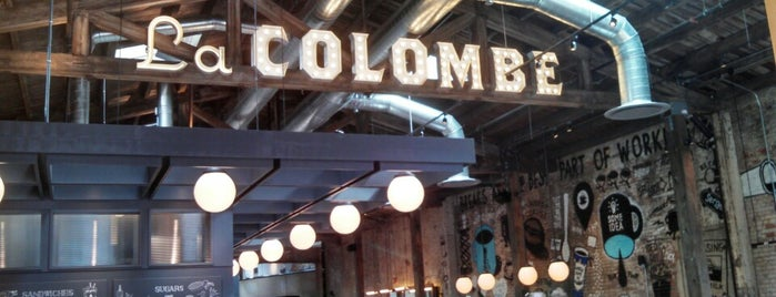 La Colombe Coffee Roasters is one of Philly.