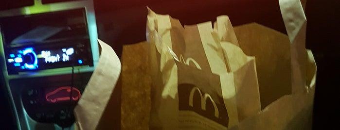 McDonald's is one of Strazburg-Nice-Marsilya.