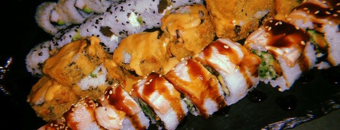Hōmu Sushi Bar is one of Varvara 😻 님이 좋아한 장소.