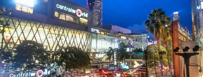 centralwOrld Square is one of Bangkok.