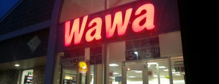 Wawa is one of Leandroさんのお気に入りスポット.