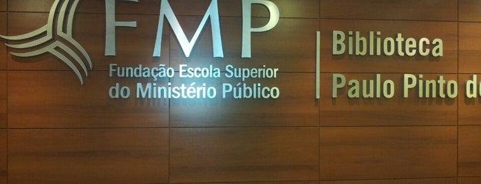 FMP - Fundação Escola Superior do Ministério Público is one of Lieux sauvegardés par Sandra.