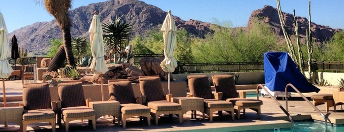 The Spa at Camelback Inn is one of scottsdale.