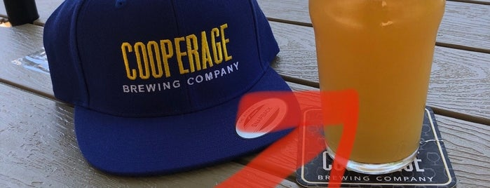 Cooperage Brewing Company is one of cali.