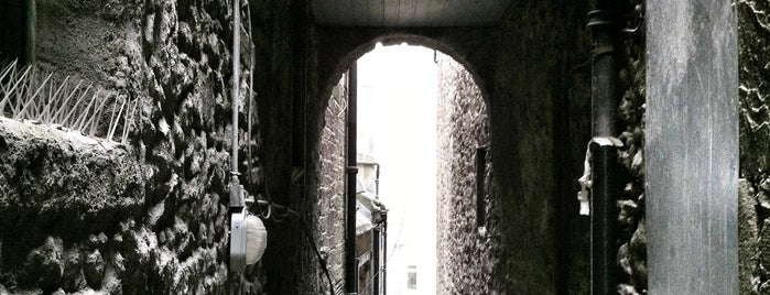 The Real Mary King's Close is one of Edinburgh.