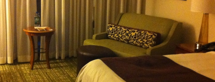 Tampa Airport Marriott is one of Beat Boredom At The Airport.
