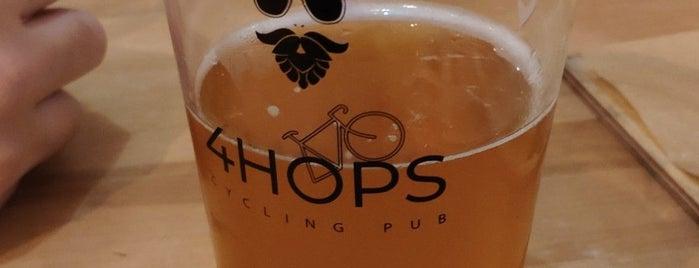 4Hops Cycling Pub is one of Locais curtidos por Alina.