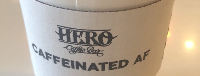 Hero Coffee Bar is one of Chicago.
