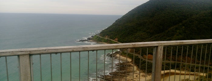Teddy's Lookout is one of Visit Victoria.
