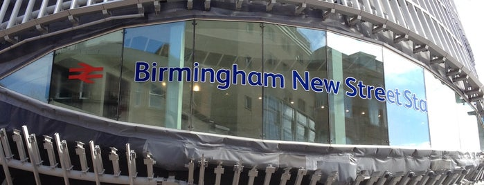Birmingham New Street Railway Station (BHM) is one of Eva'nın Beğendiği Mekanlar.