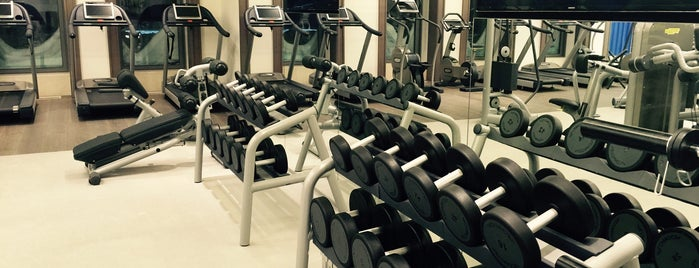 SOHO Fitness & SPA is one of Tempat yang Disimpan Natalia.